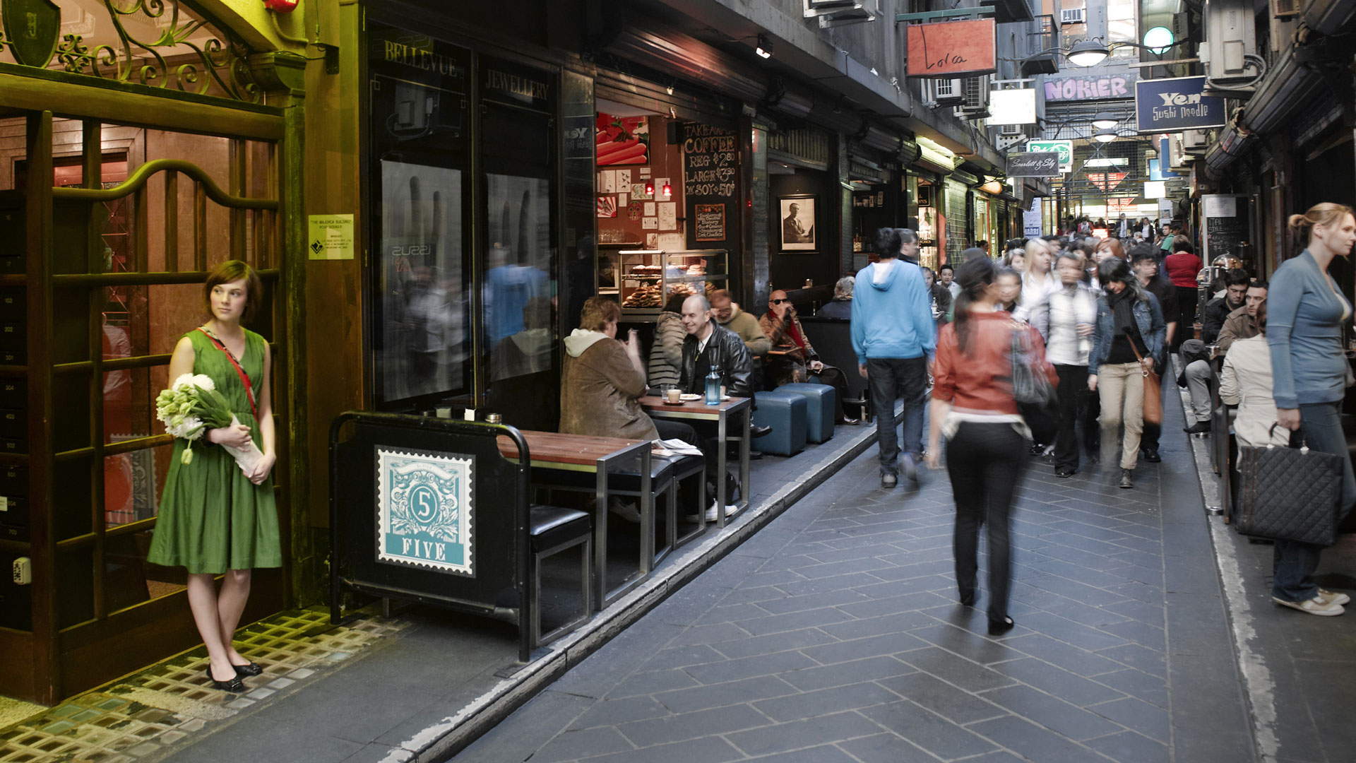 Take the subway to Melbourne Central Station to step off into one of Melbourne's top Shopping places. Plus, capture a photo of the historical Shot Tower at the centre of the plaza. There is also an.