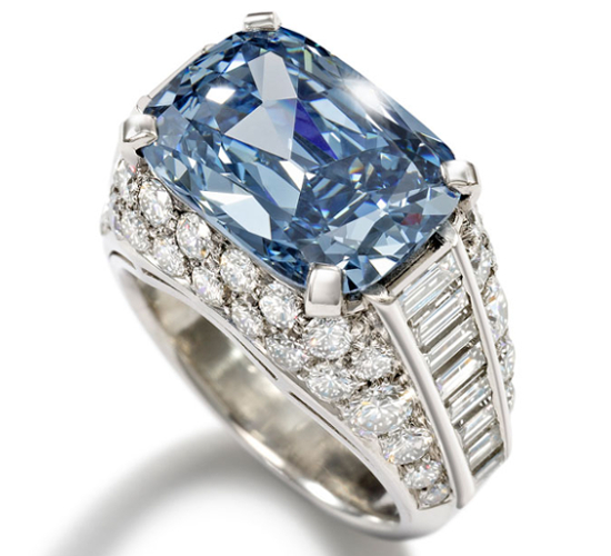 worlds most expensive engagement ring blue diamond 2013 - Most Expensive Wedding Ring