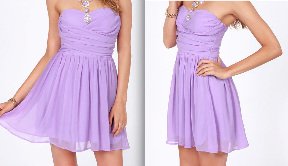Summer Dresses Fashion Trends 2013 purple