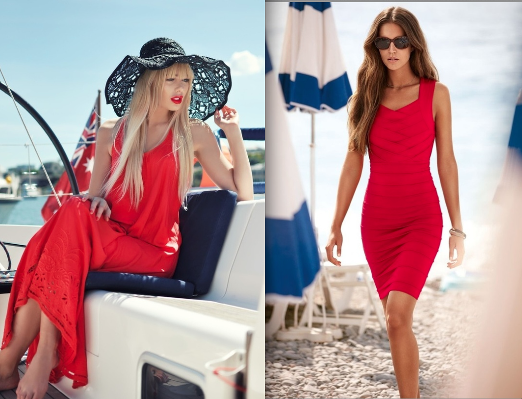 Summer Dresses Fashion Trends 2013 red