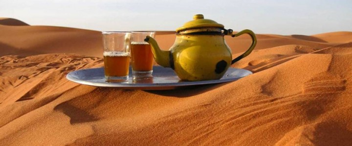 Best Places To Drink Tea In The World | Sahara Desert, Morocco