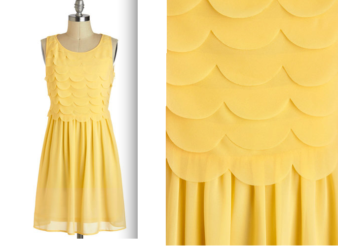 Summer Dresses Fashion Trends 2013 yellow
