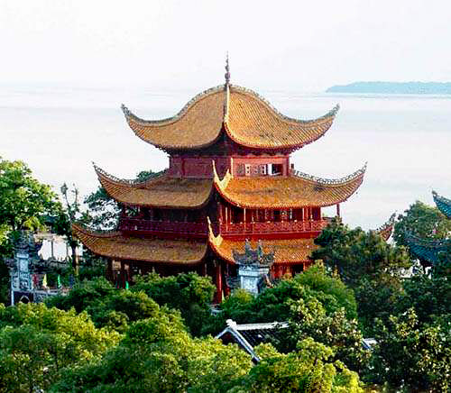 Best Places To Drink Tea In The World | Tower hunan, Yoeyang, China
