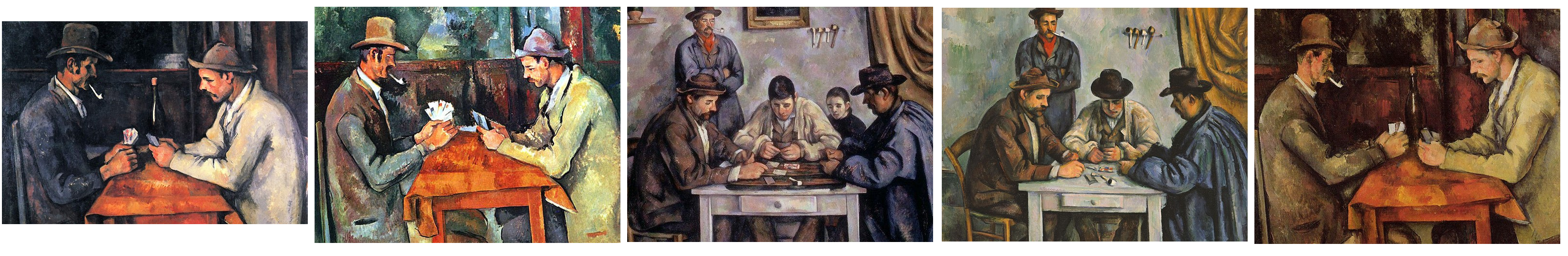 The 5 Card Players - The Most Expensive Painting in the world