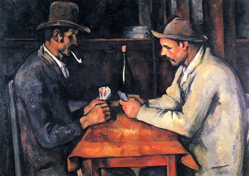 World's Most Expensive Painting: Paul Cézanne: The Card Players 1894–1895, Musée d'Orsay, Paris