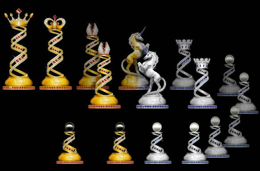 Most Expensive Chess Set in the World - EALUXE.COM | Jewel Royale Chess
