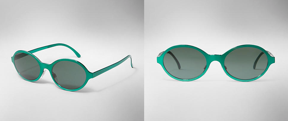 Women sunglasses for summer 2013 GREEN BURBERRY