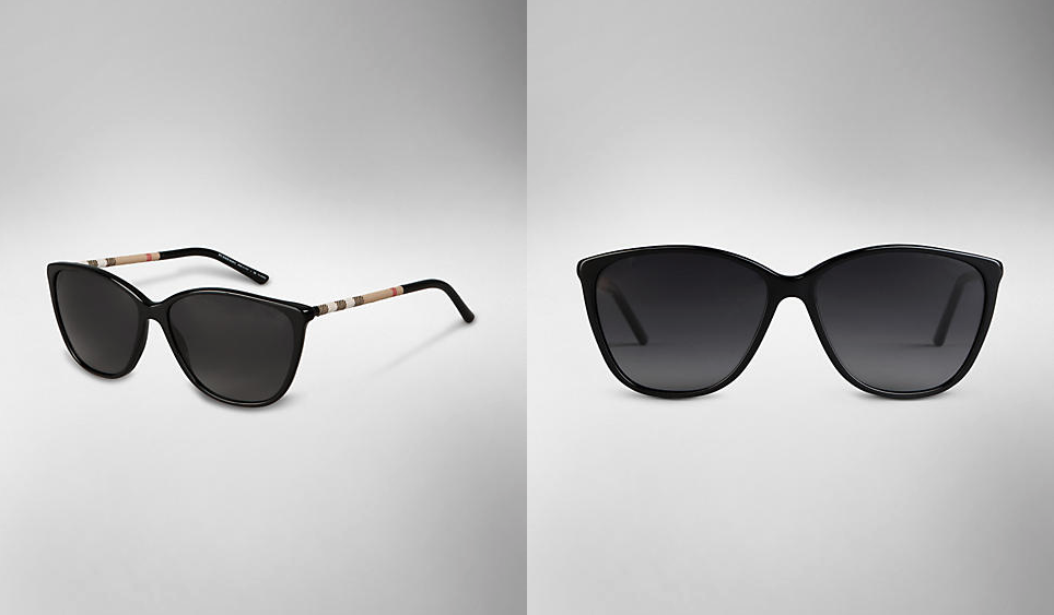 Women sunglasses for summer 2013 cat-eye sunglasses burberry