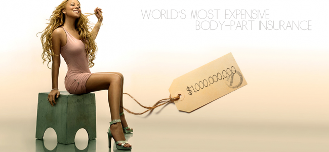 World's Most Expensive Insurance: Mariah Carey's Legs