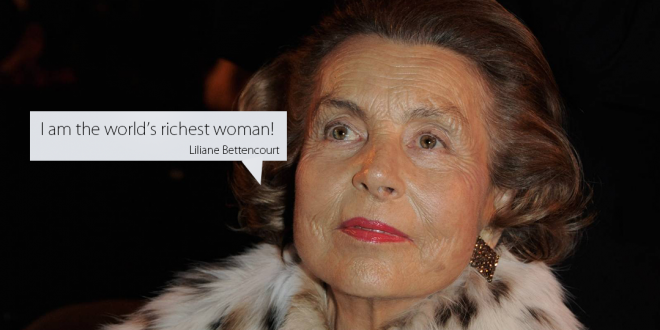 World's Richest Woman 2013: Liliane Bettencourt