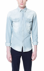 Denim Trends For Men 2013 denim shirt
