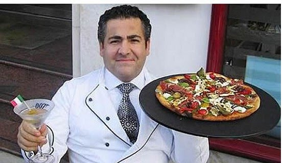 World's Most Expensive Pizza: Pizza Royale 007 and chef Domenico Crolla