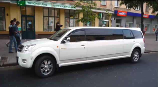 Most Expensive Limousines in the World: #10 Great Wall Hover Pi – Price: $33,750