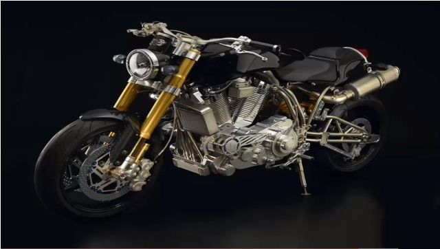 Most Expensive Motorcycles In The World: #1 Eccose Titanium Series FE TI XX ~ Price: $300,000