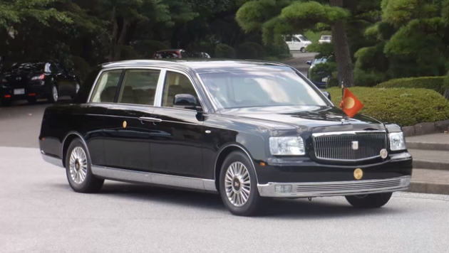 Most Expensive Limousines in the World: #1 Toyota Century Royal – Price: $534,135