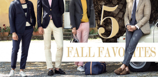 5 fall favorites fashion for men
