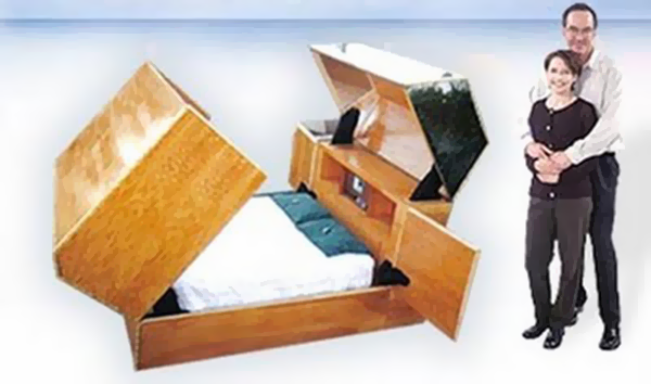 Most Expensive Beds In The World: #5 Quantum Sleeper Bed ~ Price: $160,000