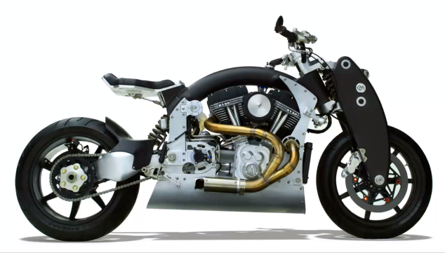 Most Expensive Motorcycles In The World: #7 Confederate B120 Wraith ~ Price: $135,000