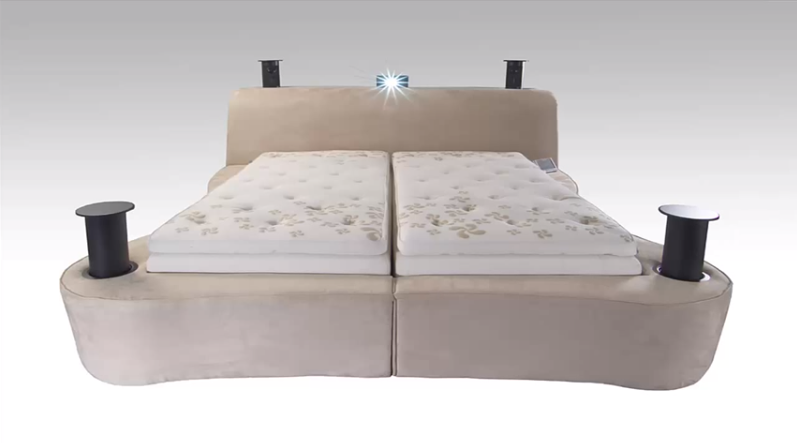 Most Expensive Beds In The World:#9 Starry Night Sleep Technology Bed ~ Price: $50,000