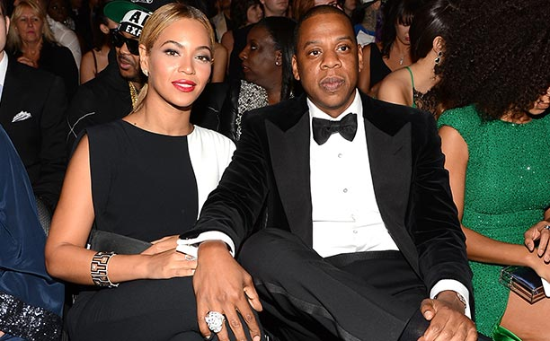 The 55th Annual GRAMMY Awards - Backstage And Audience Beyoncé and Jay-Z | Most Powerful Music Couple
