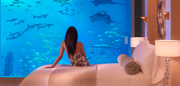 Neptune and Poseidon Underwater Suites, Atlantis The Palm, Dubai
