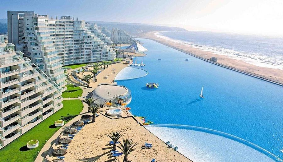 San-Alfonso-del-Mar-Chile Luxury Swimming Pools Around The World