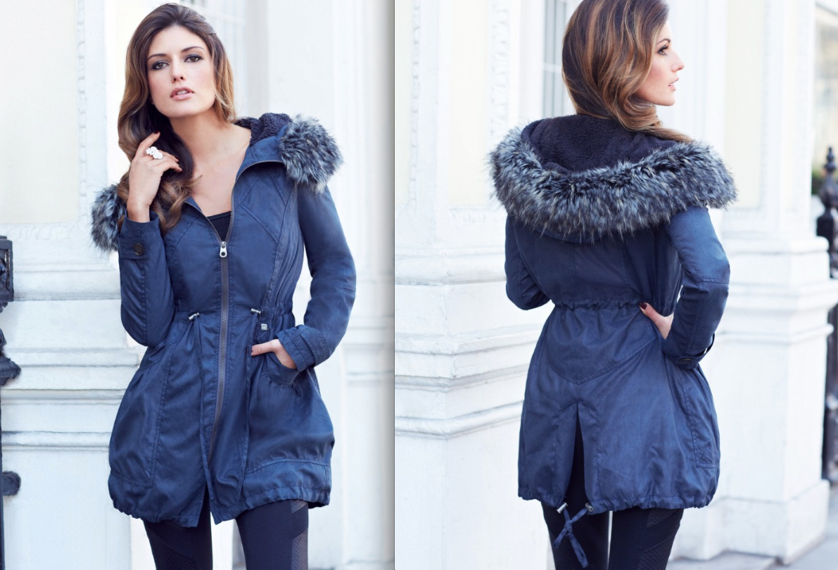 blue coat winter fashion trends 2013 women