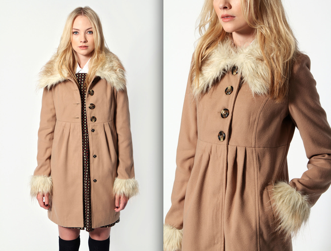 coat fur winter fashion trends 2013 women