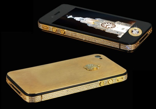 Stuart-Hughes-iPhone-4S-Elite-Gold Worlds Most Expensive Smartphone