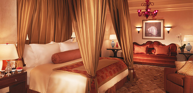Sumptuous bedroom in our Presidential Suites, Atlantis The Palm, Dubai