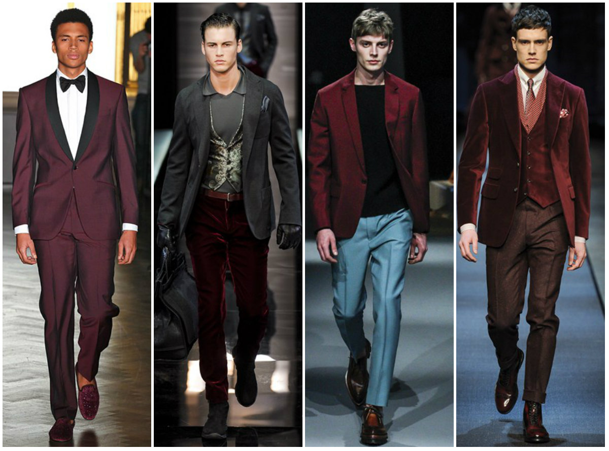 2014 Men's Fashion Trends collage