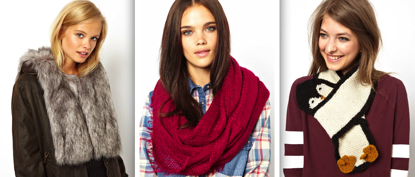 scarves winter fashion trends 2013 women