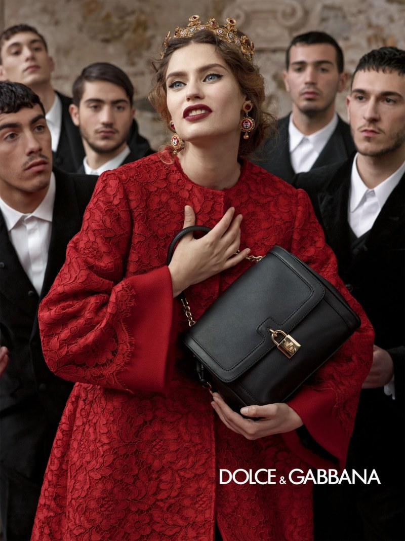 Dolce-Gabbana-Fall-Winter-2013-2014-Ad-Campaign-16 Red is the new black | Fall Winter 2014