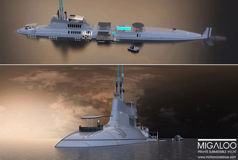 Luxury Submarine: Migaloo