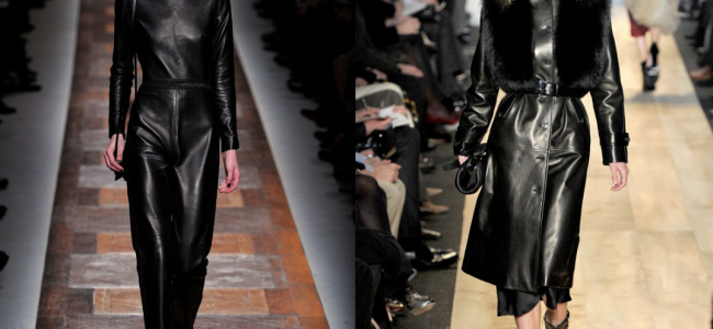 Leather Fashion Trends 2013