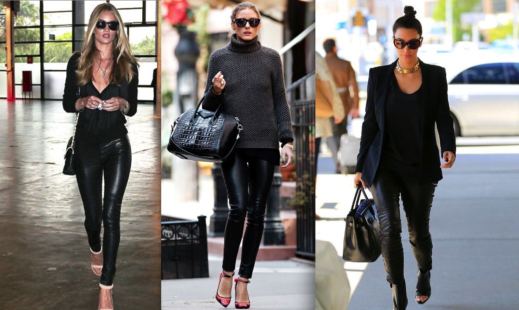 Leather Fashion Trends 2013 - EALUXE.COM
