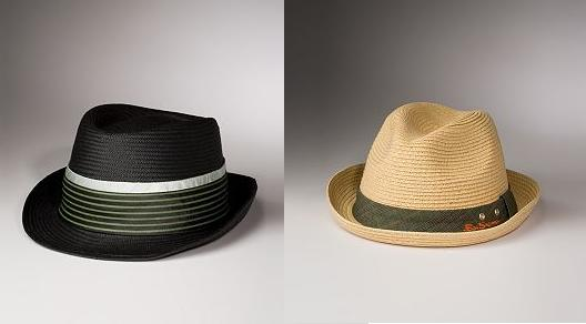 ben-sherman-straw-fedora-hat-straw-pork-pie-hat Men's Accessories | Fall Winter 2013-2014