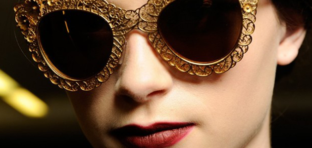 Dolce and Gabbana Sunglasses | Fall Winter 2013-2014