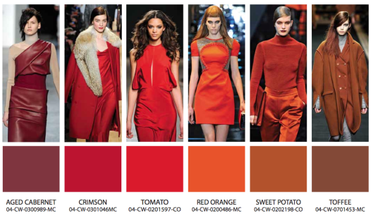 fw-13-14-warm_1-fashion-color-trends Red is the new black | Fall Winter 2014