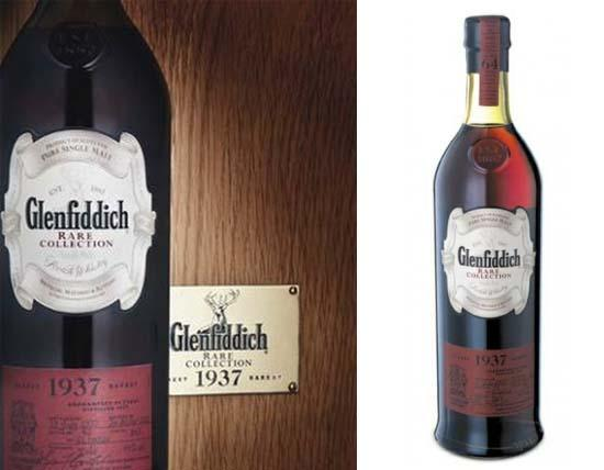 Most Expensive Whisky in the World: 5. Glenfiddich 1937 – $20,000