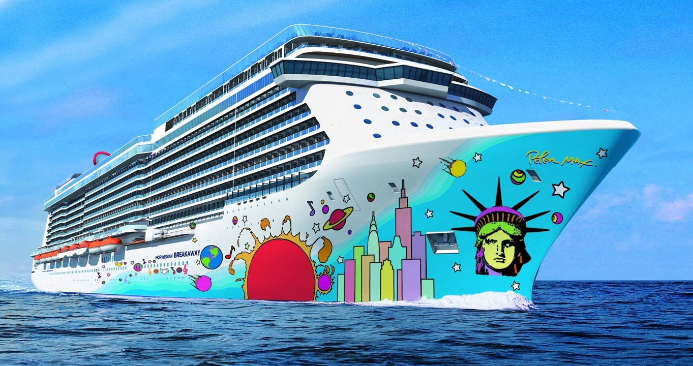 Most Luxurious Cruise Ships: #5Norwegian Cruise Lines' Breakaway