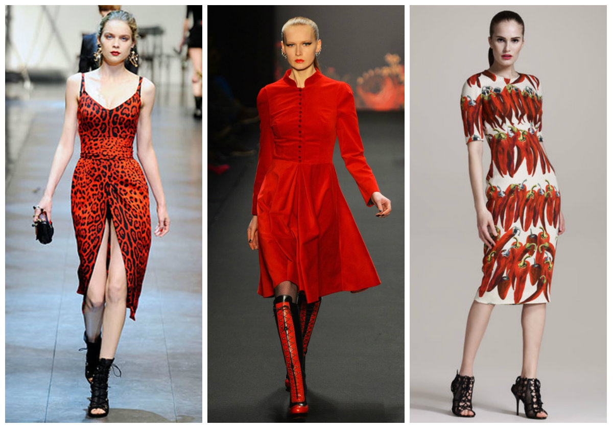 Red Is The New Black Fall Winter 2017