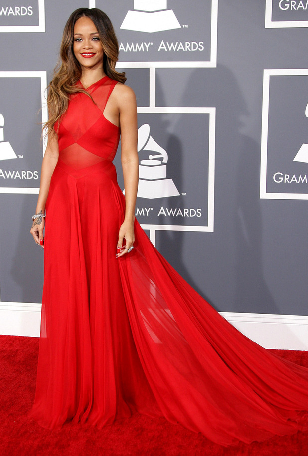 rihanna Red is the new black   Fall Winter 2014