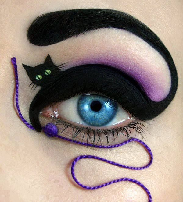 Halloween Costume Ideas 2013 cat makeup