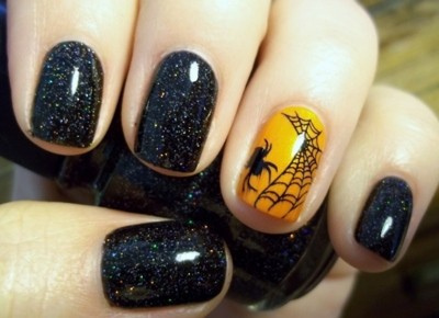 Halloween Costume Ideas 2013 nail art - art nail