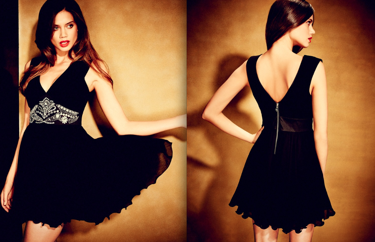 little black dress New Year Eve Outfits Ideas 2013-2014
