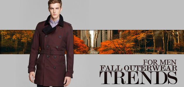 Fall Outerwear Trends Men 2013