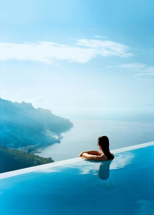 Intercontinental Thalasso Infinity pool, Bora Bora
