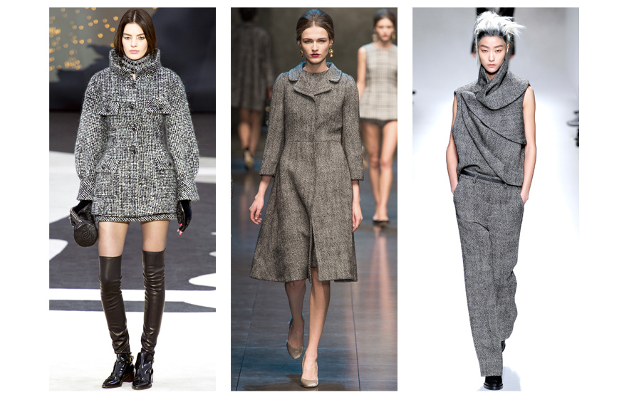 Trends For Fall-Winter 2014 | Women Style tweed_chanel__dolce___gabbana_et_haider_ackermann_372726604_north_883x.1
