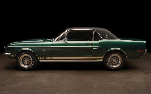 1968 Shelby Mustang Green Hornet Prototype Most Expensive Muscle Cars in the World